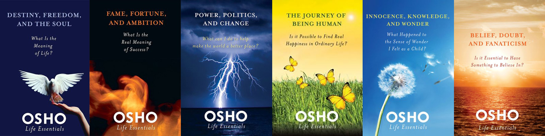 Osho life essentials the most important questions in life