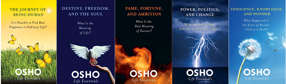 Osho Life Essentials - St. Martin's Press - also as eBooks Kindle, Kobo, Nook, Sony