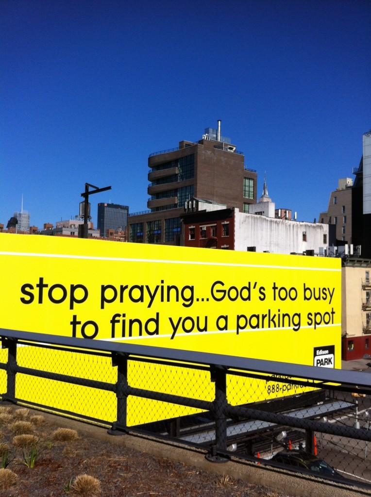 Stop Praying
